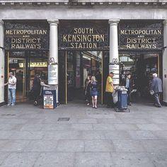 Beautiful Station Entrances | Londonist