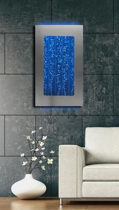 This stunning wall mounted water feature will relax the mind and entertain the senses at an amazing value! Experience Zen as you watch streams of illuminated bubbles dance continuously through water-f http://www.justleds.co.za