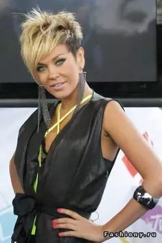Are you ready for a change and an amazing new look? Then you may be ready for one of the hottest, modern hairstyles of the year. Funky Short Hair, Short Blonde, Short Hair Cuts, Sassy Hair, Edgy Hair, Asymmetrical Hairstyles, Funky Hairstyles, Stylish Hair, Great Hair