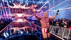 Kurt Angle's farewell match does not go as planned as Baron Corbin shockingly defeats the WWE Hall of Famer at WrestleMania. Seth Rollins, Wwe Photos, Cool Photos, Arn Anderson, Wwe Entertainment, Wrestlemania 35, Baron Corbin, Kurt Angle