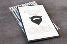 Great Beard Card. Make It Now in Cricut Design Space