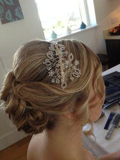 Wedding Hair styling by Fordham Hair Design Gloucestershire  ... Autumn/Winter wedding hair styling update