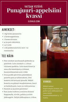 Punajuuri-appelsiini kvassi Novellen reseptipankista. Todella hyvä fermentoitu juoma vatsaa hoitamaan. Dares