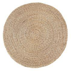 Tapis rond en jonc de mer Naturel - Rush - Les tapis - Textiles et tapis - Salon et salle à manger - Décoration d'intérieur - Alinéa