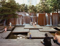 The Ira Keller Fountain, Portland, Oregon by Lawrence Halprin