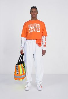 First peeped back in January, we can now cast our eyes over lookbook shots of Heron Preston's much talked about FW17 line.
