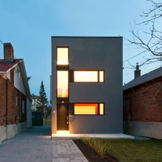This minimalistic house design by RZLBD is situated in Woodbine-Lumsden Neighborhood in Toronto, Canada. Enjoy!Whale House
