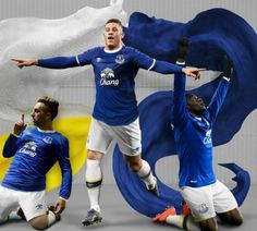 Everton FC 2016/17 Umbro Home Kit