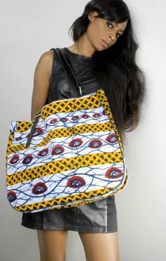 African Prints in Fashion: Limited Edition: Novelty bags from Tcharakoura