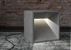 lichtWürfel, Betonleuchte, betonware
