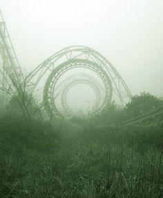 Parque de atracciones abandonado. New Orleans.