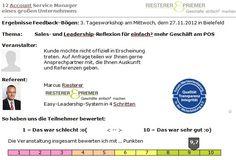 Referenz: Easy-Leadership in 3 Tagen – 9,7 von 10 Punken