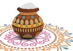 பொங்க பானை! - 2014-01-14. Pongal wishes.