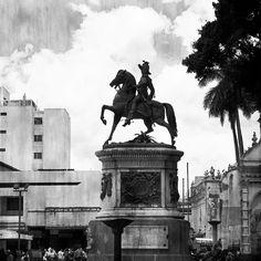 Tegucigalpa  Black and white/holga treatment of Morazán by madmack66, via Flickr