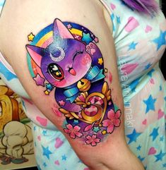 Inked tattoo app. Find more tattoo ideas and designs like this one. All tags: sailor moon, glitter, cherry blossom
