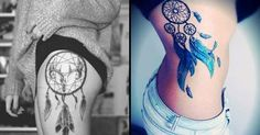 20 Elegant Dreamcatcher Tattoos