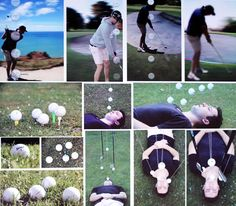 NCEA Level 3 Photography - golf theme. Great work by Daniel Price from Lindisfarne College