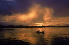 Rio Jaú no Parque Nacional do Jaú, em Novo Airão, Amazônia (AM)