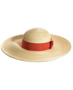 LANVIN • Wide brimmed hat