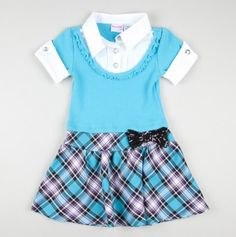 Collared 2 Fer Sweater and Plaid Dress - Party Perfect Infant Dresses & Sets - Events