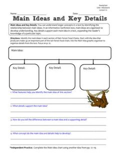 ReadyGen GRAPHIC ORGANIZERS Unit 3 Module B - Grade 5 from ...