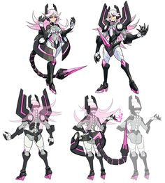 Zonda Concepts from Azure Striker Gunvolt ★ || CHARACTER DESIGN REFERENCES (www.facebook.com/CharacterDesignReferences & pinterest.com/characterdesigh) • Do you love Character Design? Join the Character Design Challenge! (link→ www.facebook.com/groups/CharacterDesignChallenge) Share your unique vision of a theme every month, promote your art, learn and make new friends in a community of over 16.000 artists who share your same passion! || ★