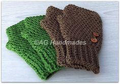 Ravelry: 20:20 Fingerless Gloves pattern by ag handmades