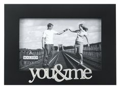 ... Picture Frame, You and Me, 4 by 6-Inch Single Frames: Wedding gift