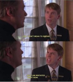 30 Rock- Kenneth is irritated (<< a curse word.) love love love this show! 30 Rock Quotes, Tv Quotes, Qoutes, Make A Girl Laugh, I Love To Laugh, Stupid Funny, Funny Stuff, Tina Fey, Tv Land