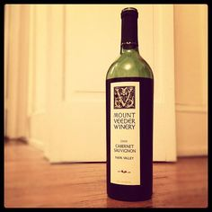 Happy #CabernetDay! Mount Veeder, 2008: Ooooh dusty mountain tannin. Very cool. $45.