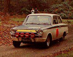 1968 RAC Rally (Cooper Rodney & Cooper Ian) Ford Cortina Lotus