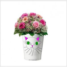 105 - Pflanzentopf ohne Pflanze Vase, Mugs, Tableware, Home Decor, Plants, Gifts, Homemade Home Decor, Dinnerware, Tumbler