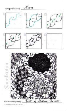 Image result for zentangle pattern noom