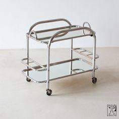 Mallet Stevens trolley Storage Shelves, Shelving, Vintage Furniture, Furniture Design, Robert Mallet Stevens, Mid Century Modern Colors, Modern Color Schemes, Modernisme, Moorish