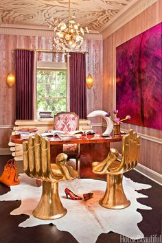"""The New Yorker dubbed Kelly Wearstler """"the presiding dame of West Coast interior design,"""" and she has become known as a """"celebrity designer"""" since then."""