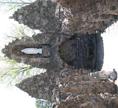 Bulit to resemble the Lourdes Grotto  where the Holy Mother hadApperead ,for the Sisters of St. Joseph- Concordia Kans