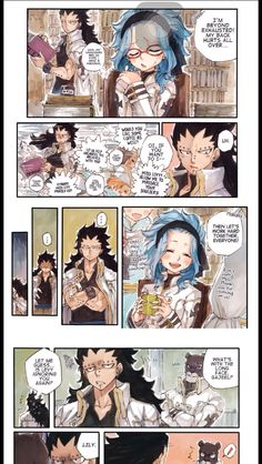 Adventures on the Council part 2 1/3 I have fun torturing Lily with their bs in my comics, forgive me. Levy's unit returned to normal the next day after she found out though. #Gajeel & #Levy