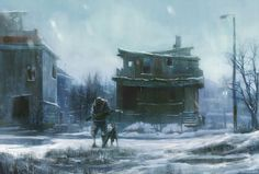 http://digital-art-gallery.com/oid/2/640x432_1298_It_s_Snowing_2d_illustration_dog_sadness_abandoned_post_apocalyptic_soldier_picture_image_digital_art.jpg
