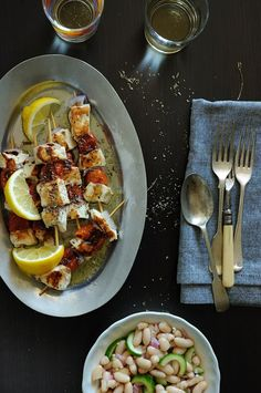 Swordfish Souvlaki (Souvlaki For The Soul) - Greece