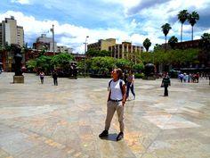 Open air museum, Medellín! – QUO VADO ?! Sidewalk, Street View, Travel, Fernando Botero, Museum, Colombia, Viajes, Side Walkway, Walkway