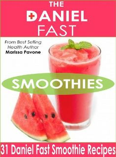 The Daniel Fast Smoothies: Easy, Quick, and Delicious Daniel Fast Smoothie Recipes by Marissa Pavone, http://www.amazon.com/dp/B00I25JSXA/ref=cm_sw_r_pi_dp_WbV6sb0CP70V1
