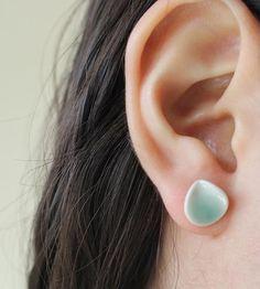 Petal Porcelain Earrings by MierMier Design on Scoutmob Shoppe