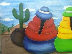 Resultado de imagen para dibujos coyas para pintar Arte Popular, Mexican Art, Painted Rocks, Decoupage, Watercolor, Outdoor Decor, Home Decor, Rock Painting, Peru