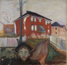 Red Virginia Creeper, 1898-1900, Edvard Munch, Munch Museum, Oslo.