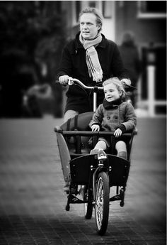 Father and daughter - Amsterdam
