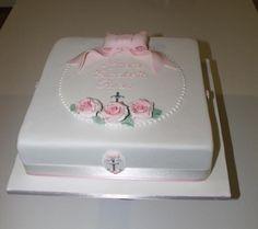cake ideas for christening | Christening Cake by Sally Ryan | Cake Decorating Ideas