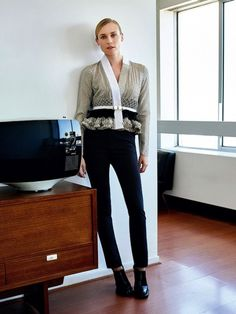 Diane Kruger Is Perfectly Polished in Her Latest Spread via @WhoWhatWear