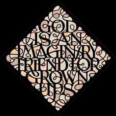 """typography, niels shoe meulman, """"god is an imaginary friend for grown ups"""" Typography Images, Typography Inspiration, Typography Letters, Creative Inspiration, Atheist Humor, The Devil's Advocate, Hand Drawn Type, Sand Art, Letter Art"""