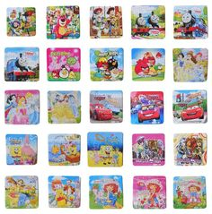 £1.69 16 Pcs New Kids Puzzle Cute Jigsaw Puzzle Kids Toy Girls Pink Princess Puzzle in Toys & Games, Jigsaws & Puzzles, Jigsaws | eBay