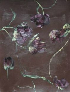 Claire Basler for Zimmer & Rhodes. Connecting the arts with decorative design. Art Floral, Claire Basler, Plant Painting, Art Et Illustration, Illustrations, Wow Art, French Artists, Botanical Art, Art Oil